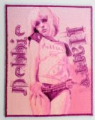 Debbie Harry - 'Pink' Embroidered Patch